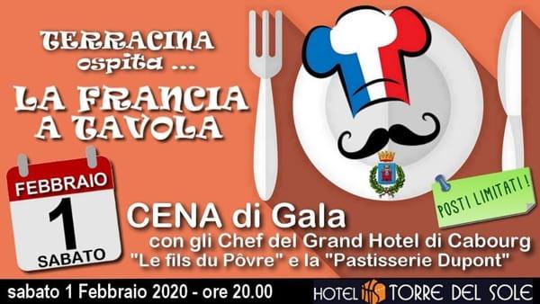 Terracina ospita la Francia in tavola cena di gala-2