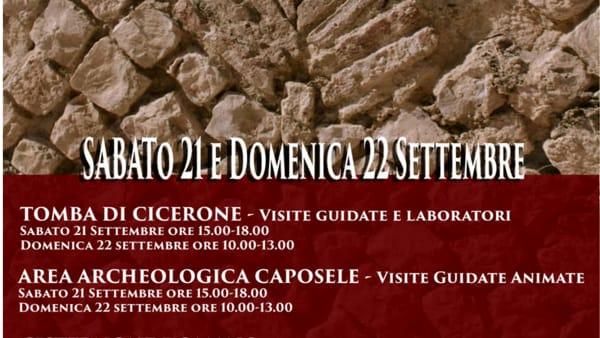 Giornate Europee del Patrimonio: a Formia tante iniziative per tutti
