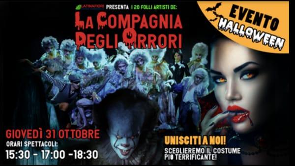 Halloween 2019: spettacoli dal vivo e maschere da brivido a Latinafiori