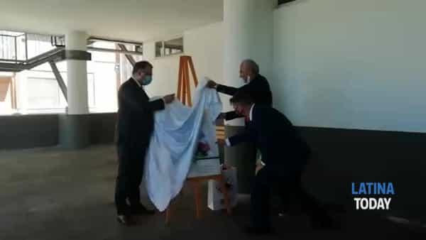 VIDEO   Coronavirus Latina, l'opera donata all'ospedale Goretti