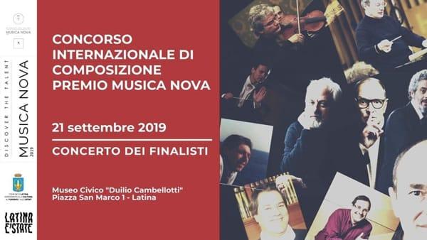 Il Premio Musica Nova: la serata conclusiva al Museo Cambellotti di Latina