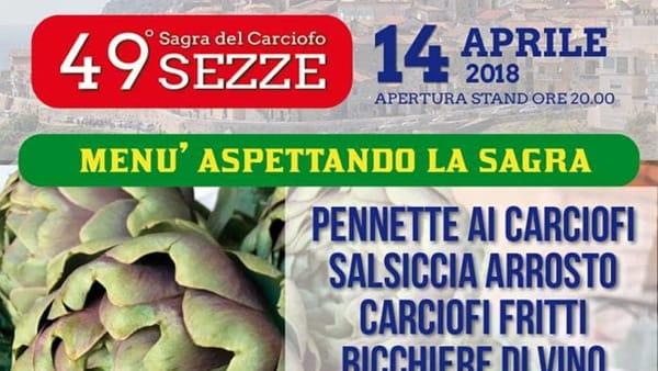 sagra del carciofo di sezze 2018 14 aprile-2