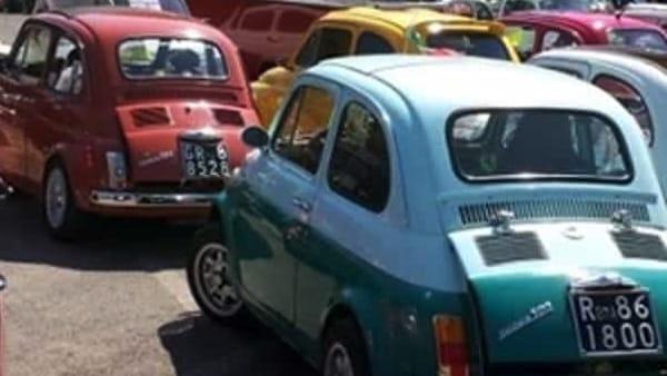 Donne e motori a Giulianello con il VII raduno 500 e plurimarche
