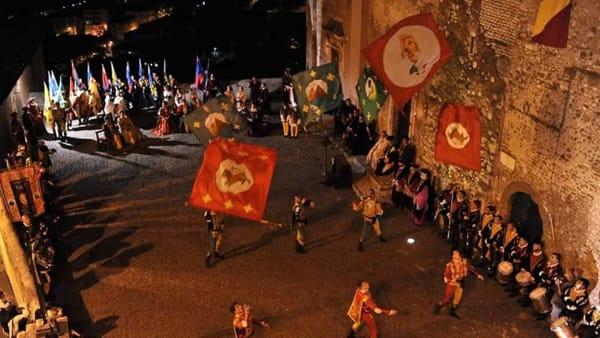 Il Carosello Storico dei Rioni di Cori: al via l'edizione 2019