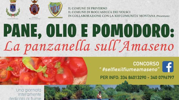 Pane olio e pomodoro, la panzanella sull'Amaseno: la manifestazione presso le Mole Sante a Priverno