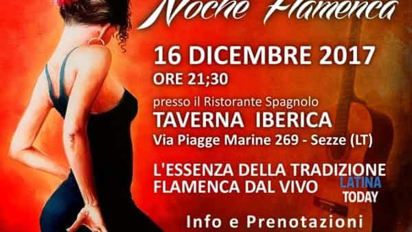 Flamenco en vivo: a Sezze una vera e propria Noche Flamenca