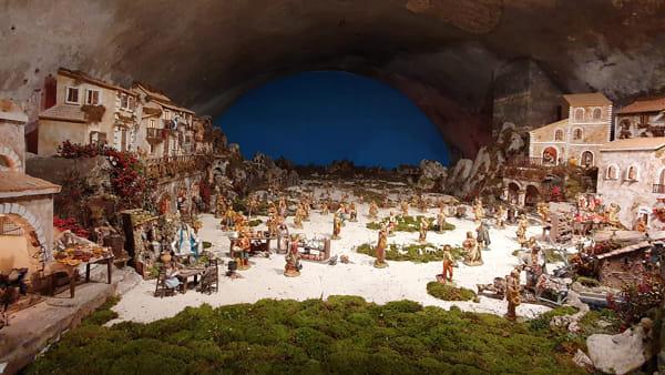 Presepe nelle Grotte di Palazzo Caetani