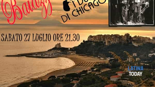 I Duri di Chicago in concerto a Sperlonga