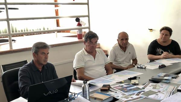Foto Conferenza - Da sinistra Cassola, Lessio, Schiboni, Gervasi-2