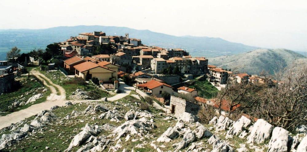 Una veduta di Rocca Massima