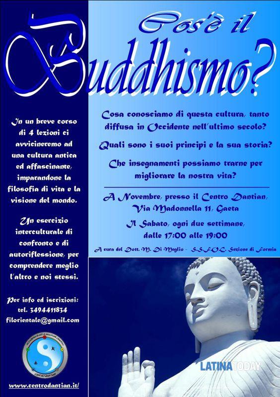 Cos è Il Buddhismo Corso A Gaeta