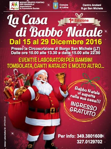 hot sale online 4db2b 7ebe3 Casa di Babbo Natale a Borgo San Michele